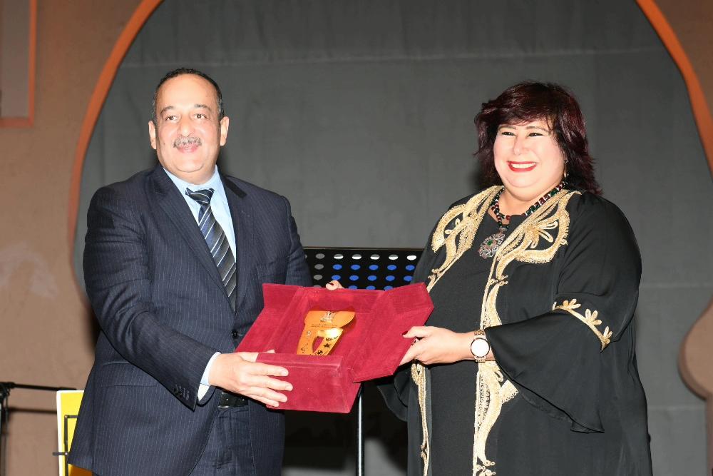 الدكتورة إيناس عبد الدايم وزيرة الثقافة (7)