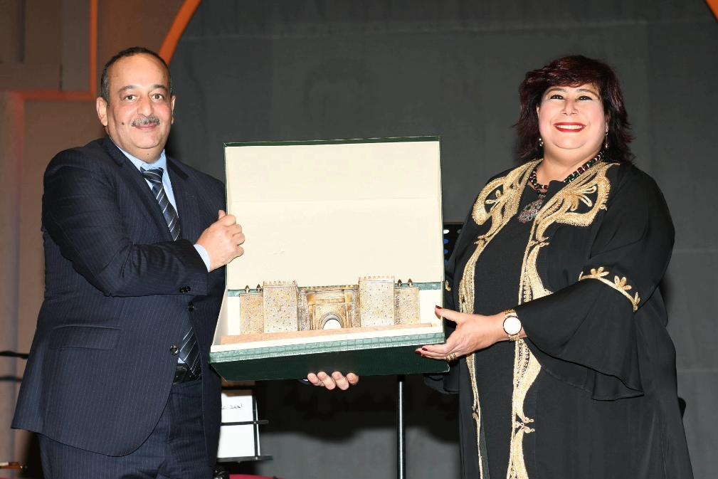الدكتورة إيناس عبد الدايم وزيرة الثقافة (5)