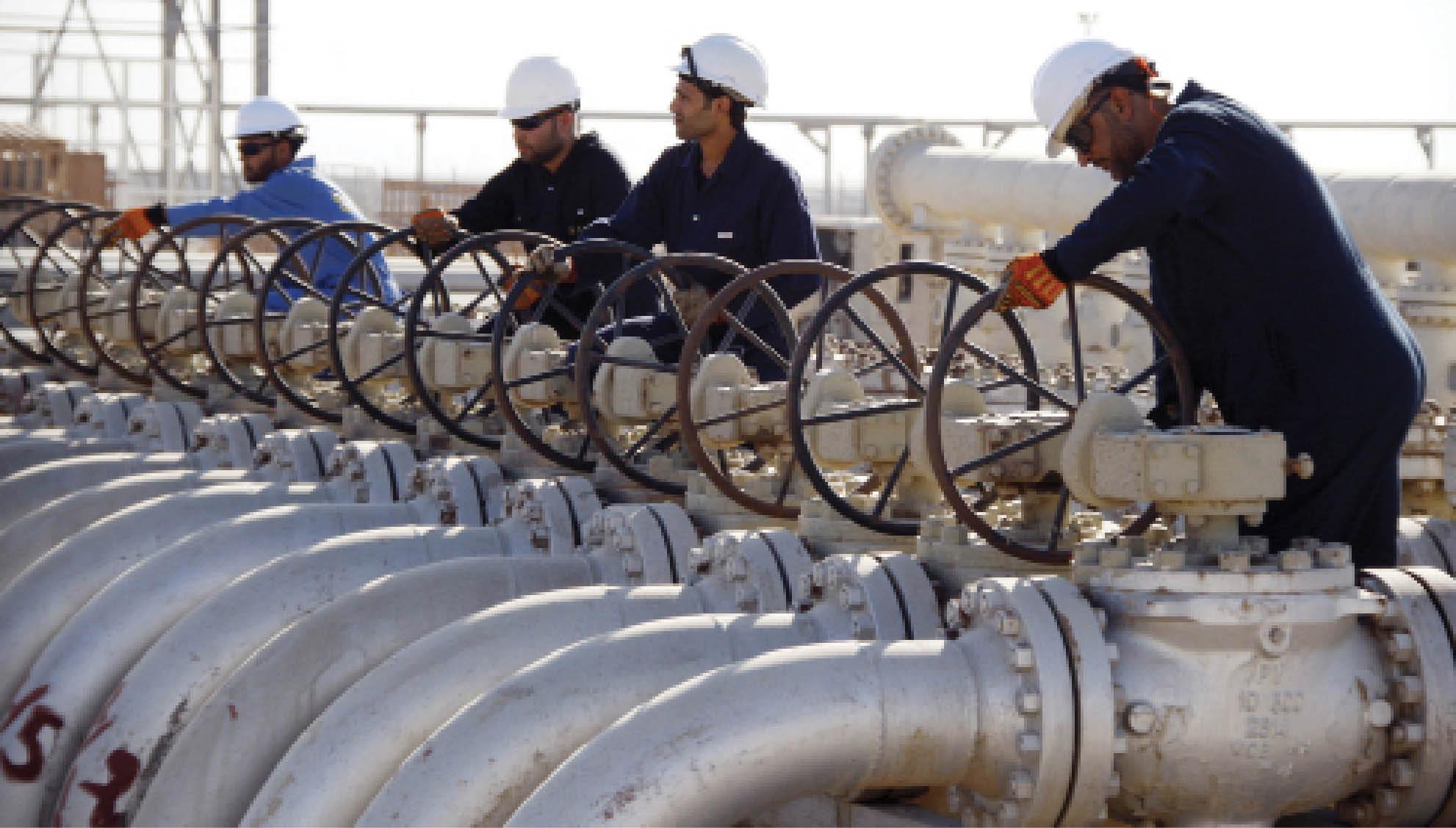 خط انتاج الغاز الايرانى