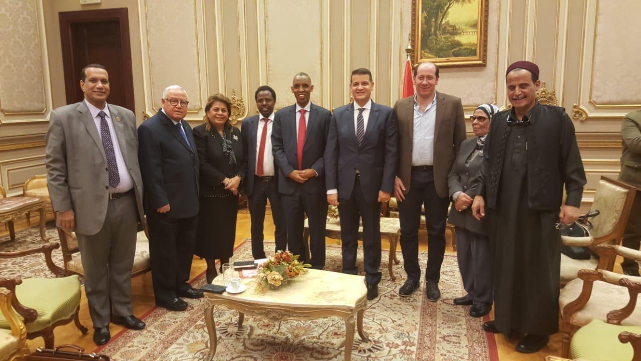 دعم العلاقات المصرية الإفريقية (1)