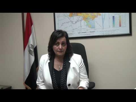 الدكتورة منى محرز نائب وزير الزراعة لشئون الثروة الحيوانية والسمكية والداجنة