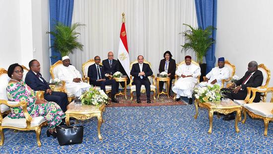 الرئيس عبد الفتاح السيسي في منتدى أفريقيا 2018 (4)