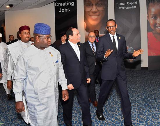 الرئيس عبد الفتاح السيسي في منتدى أفريقيا 2018 (2)
