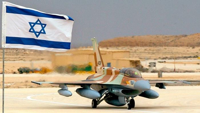 طائرة اف 16 اسرائيلي