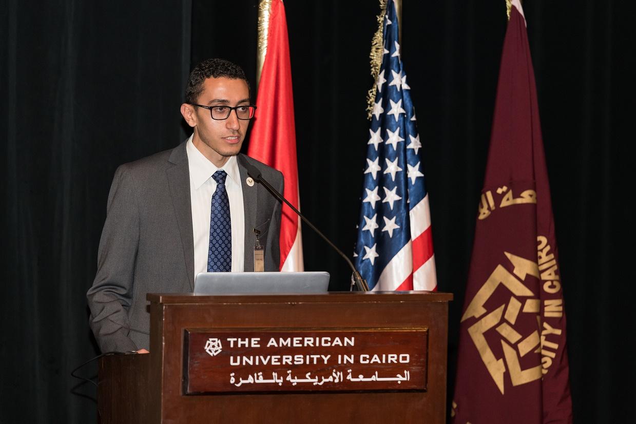 Student Mohamed Heggi