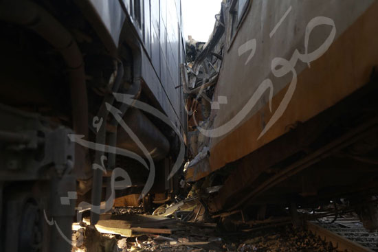 حادث قطار المناشى - قطار البحيره (7)
