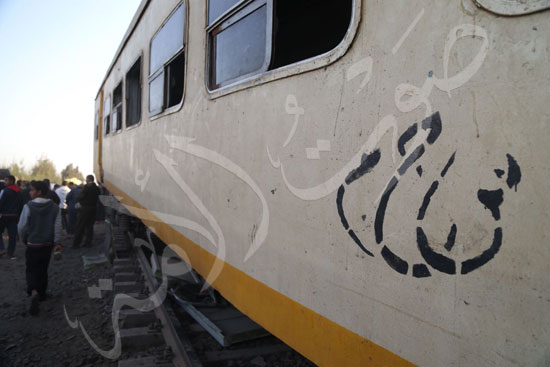 حادث قطار المناشى - قطار البحيره (1)