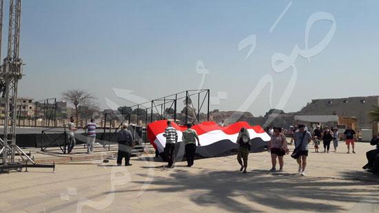 معابد الكرنك تستعد لاستقبال حفل ختام الأقصر عاصمة الثقافة العربية (1)