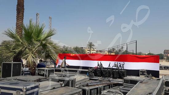 معابد الكرنك تستعد لاستقبال حفل ختام الأقصر عاصمة الثقافة العربية (3)