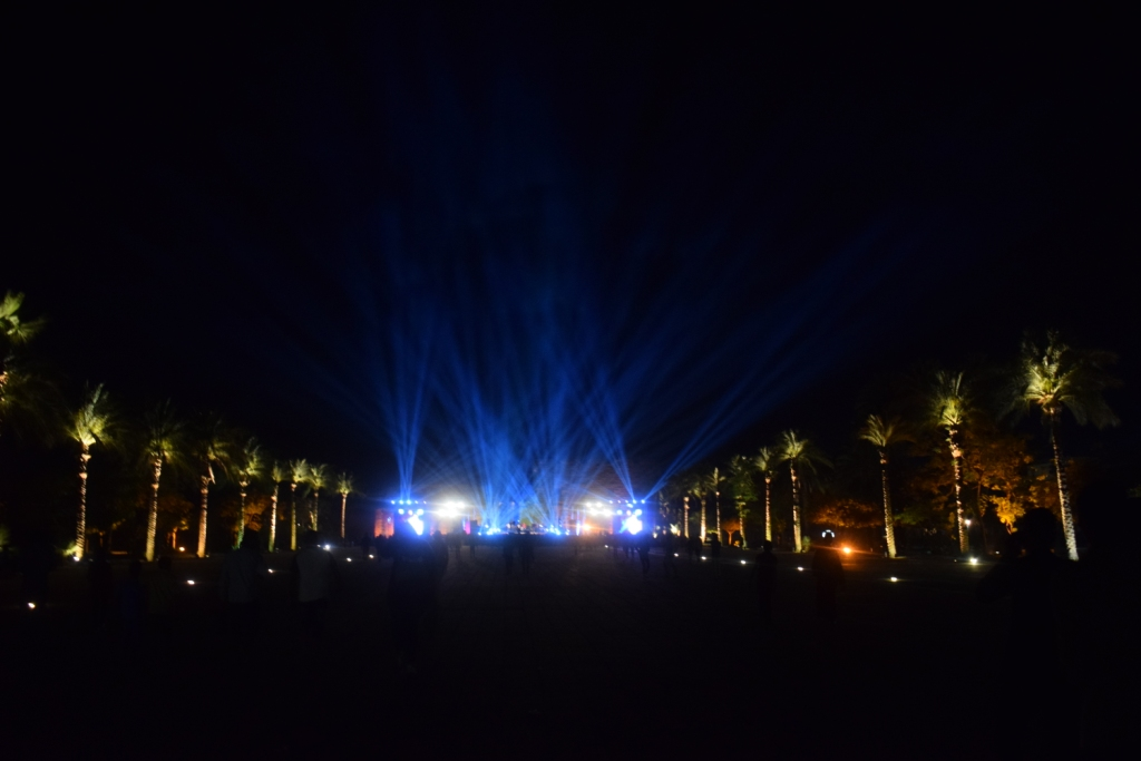 معبد الكرنك قبل حفل منير (1)