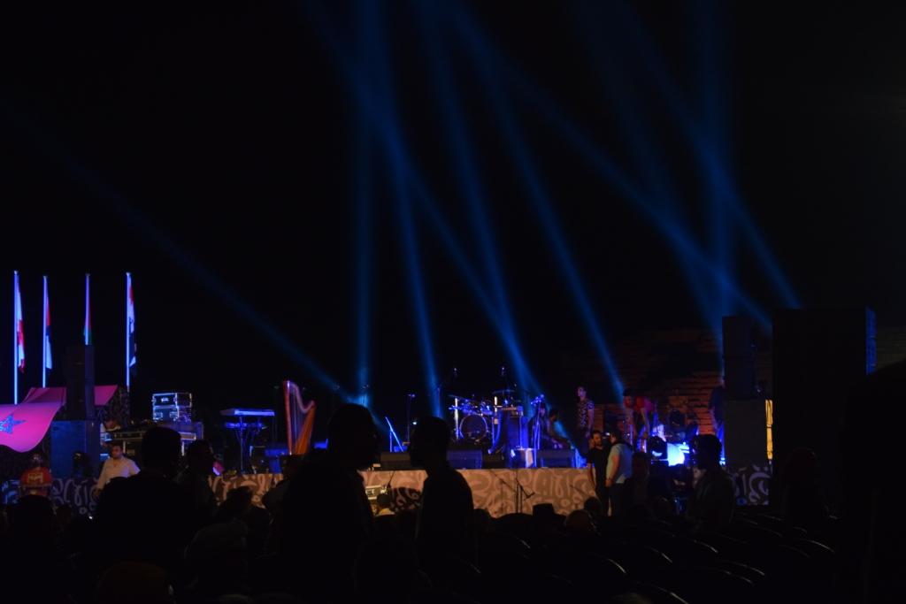 معبد الكرنك قبل حفل منير (3)