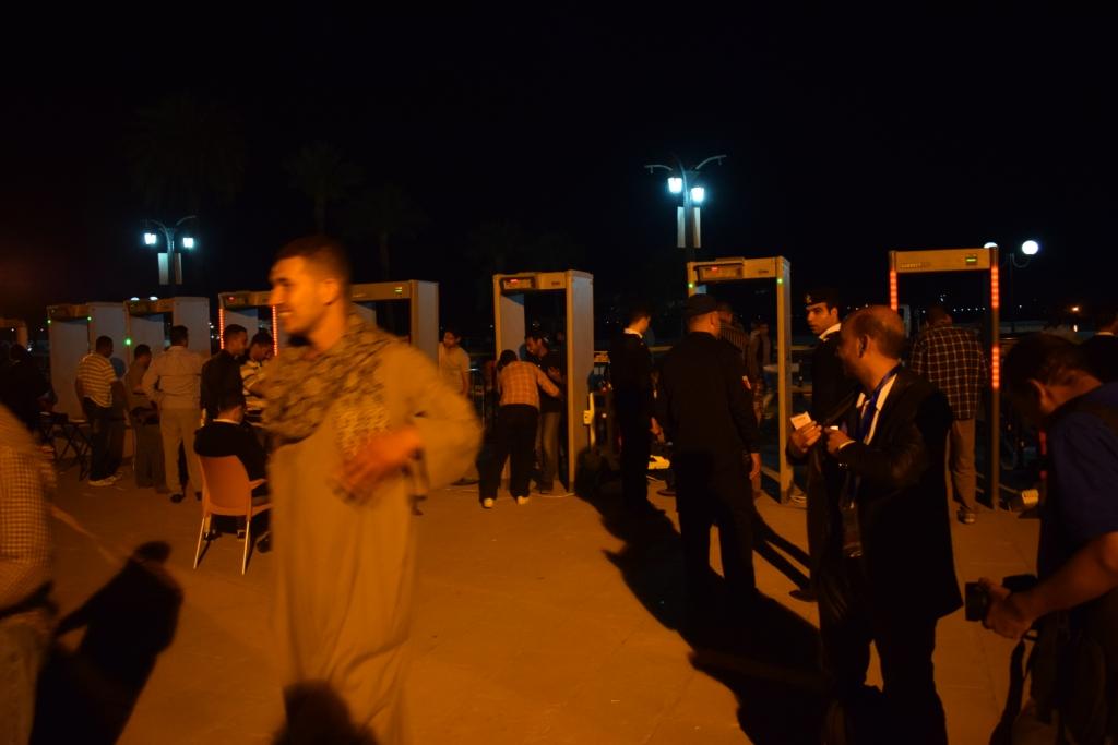 معبد الكرنك قبل حفل منير (6)