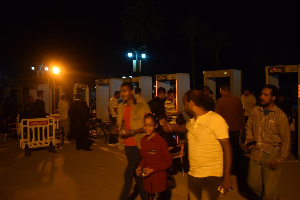 معبد الكرنك قبل حفل منير (5)