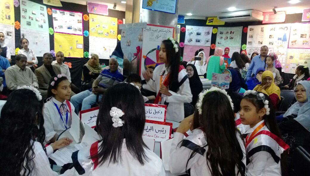 تعليم الأقصر تقيم معرضها السنوي للصحافة المدرسية بمكتبة مصر العامة بالكرنك (2)