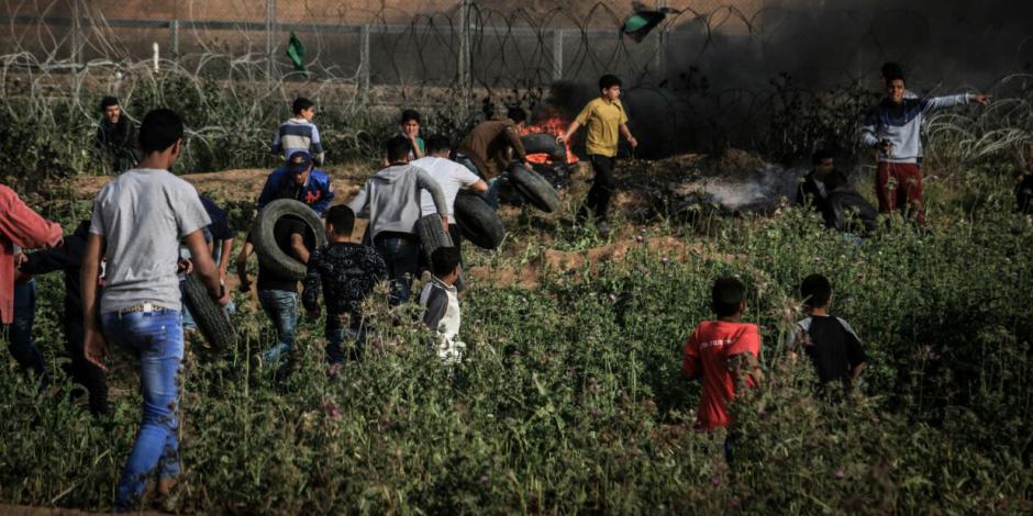 مظاهرات فلسطين