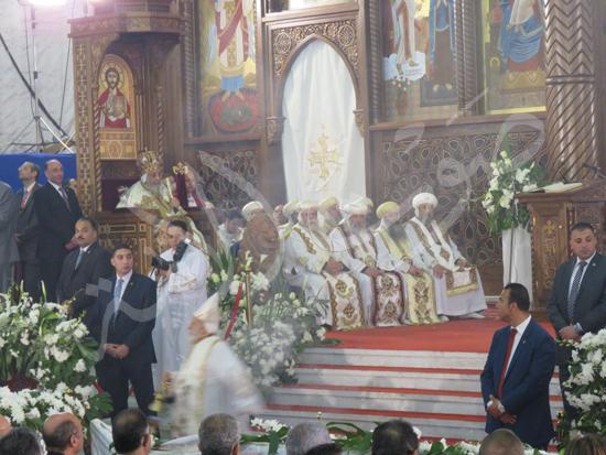 البابا تواضروس في قداس عيد القيامة المجيد (5)