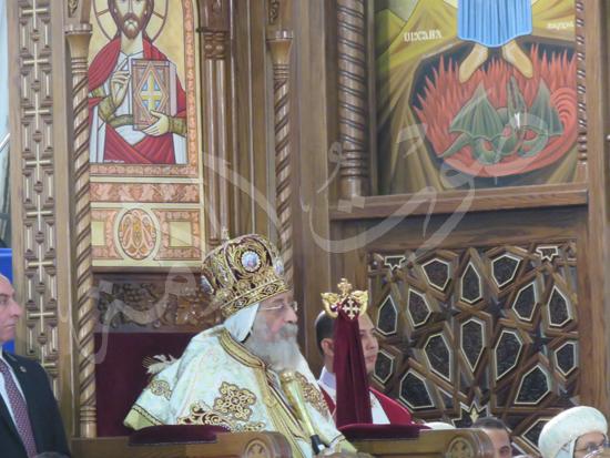 البابا تواضروس في قداس عيد القيامة المجيد (7)