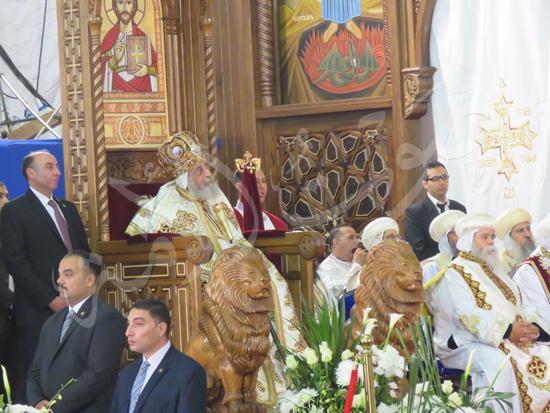 البابا تواضروس في قداس عيد القيامة المجيد (10)