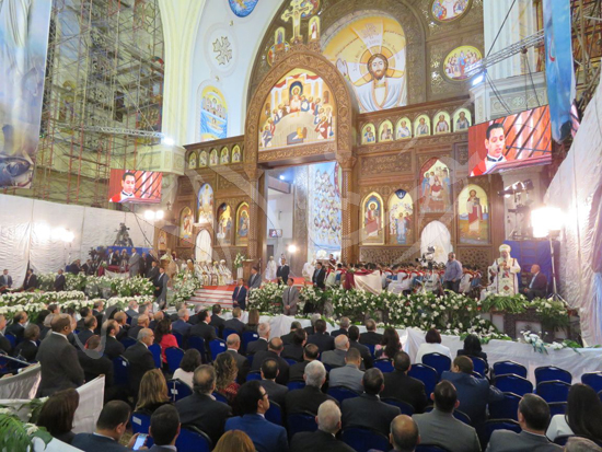 البابا تواضروس في قداس عيد القيامة المجيد (9)