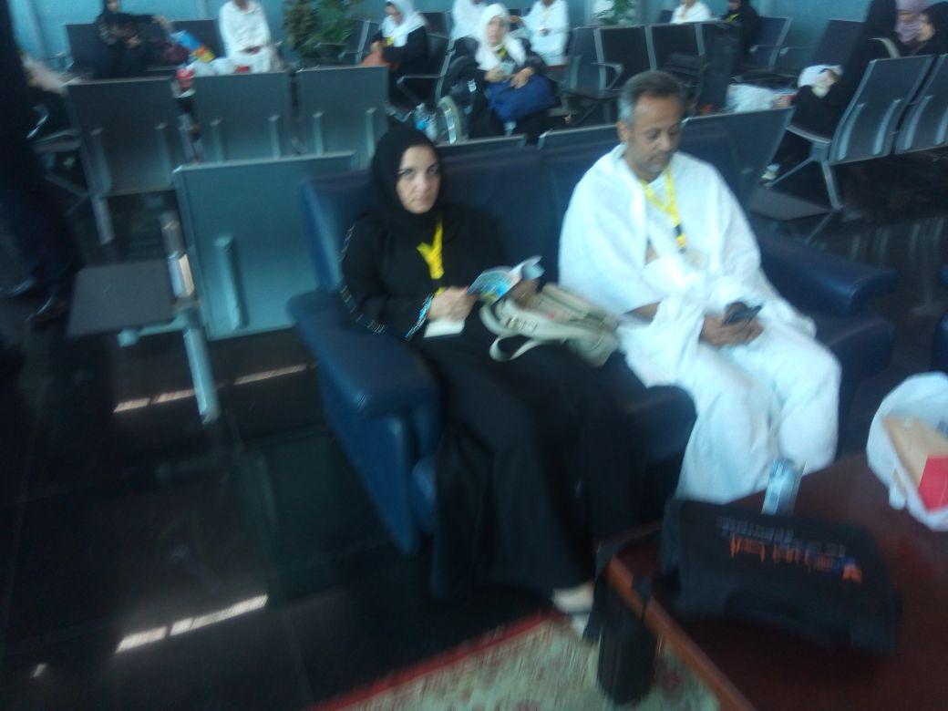 بعثة العاملين بمطار القاهرة تغادر للأراضي المقدسة  (3)