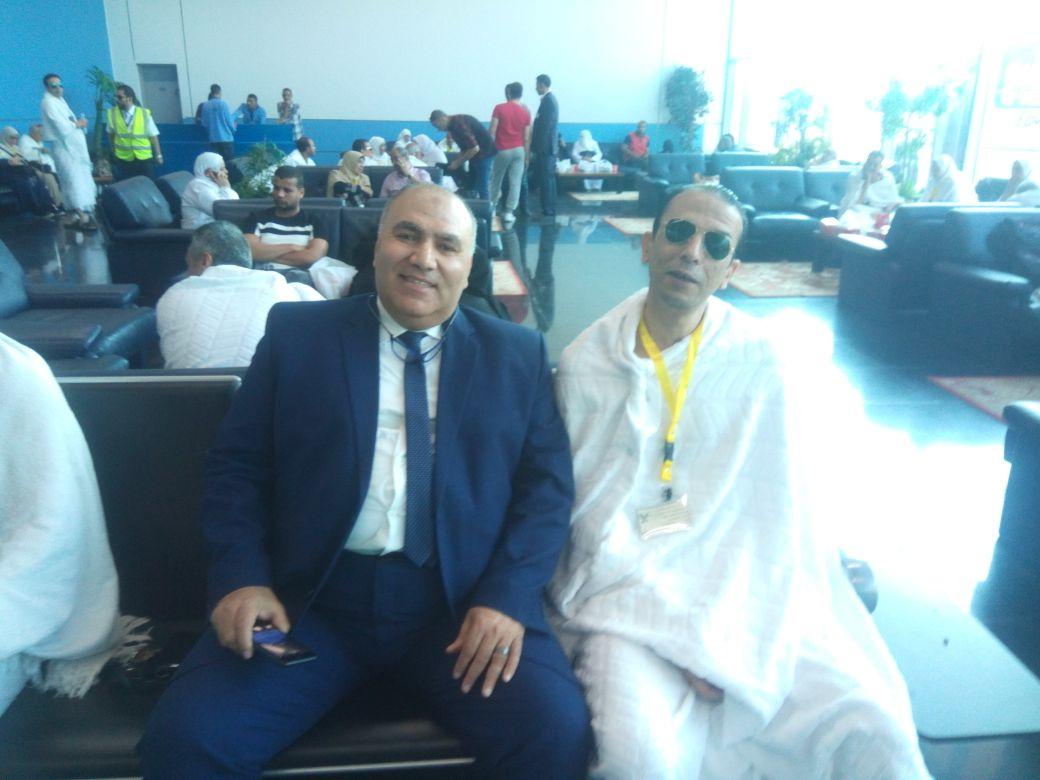 بعثة العاملين بمطار القاهرة تغادر للأراضي المقدسة  (4)