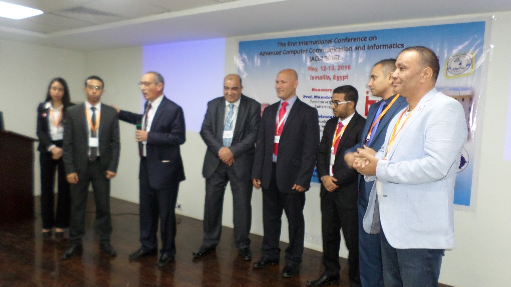مؤتمر الحاسبات يكرمم عددا من المشاركين بالمؤتمر فى الاسماعيلية (2)