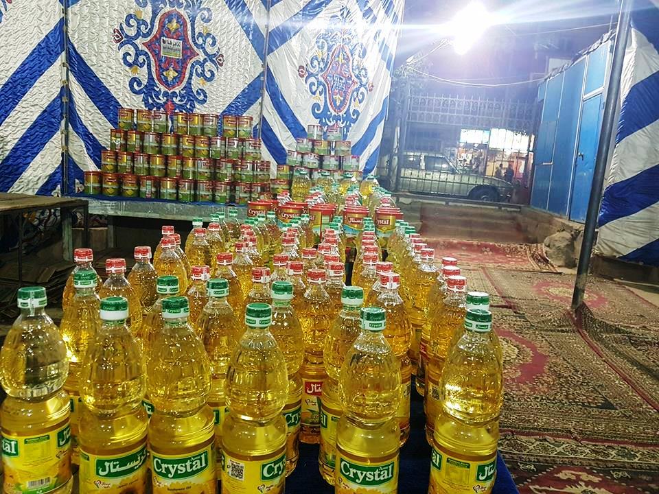 تجهيزات معرض اهلا رمضان بأخميم (4)