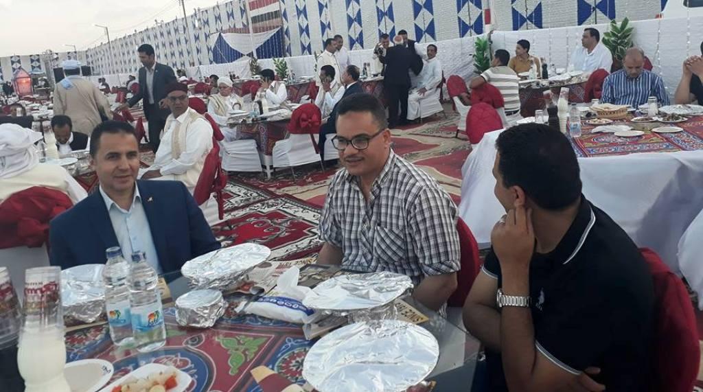 مديرية أمن مطروح تجمع العائلة المطروحية على مائدة الإفطار السنوية  (9)
