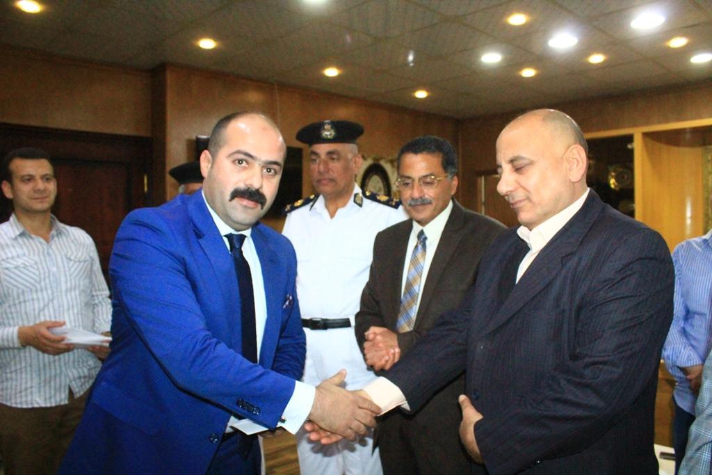 تكريم قيادات وضباط اداراة البحث الجنائى فى الاسماعيلية (4)