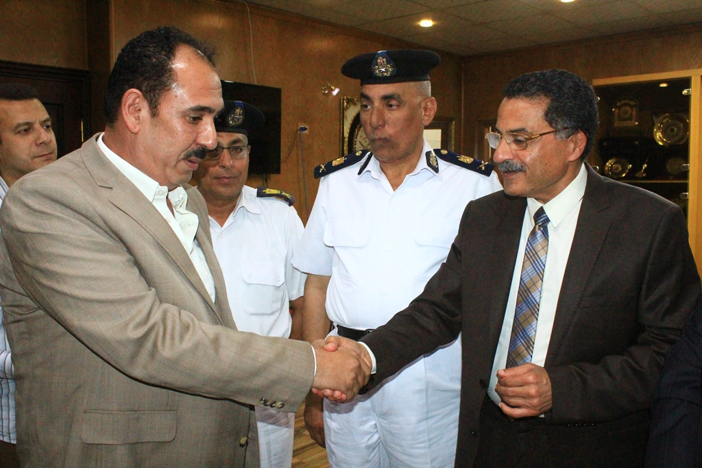 تكريم قيادات وضباط اداراة البحث الجنائى فى الاسماعيلية (2)