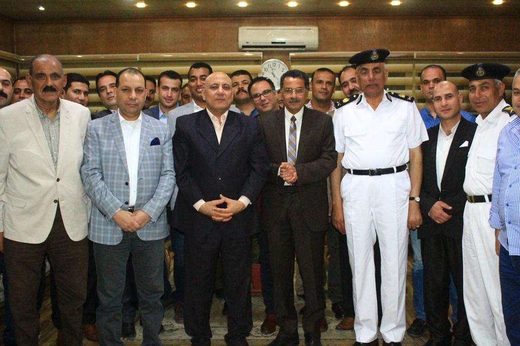 تكريم قيادات وضباط اداراة البحث الجنائى فى الاسماعيلية (7)
