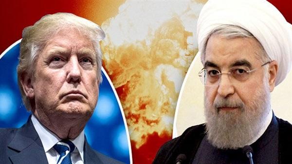 روحاني والرئيس الأمريكي دونالد ترامب