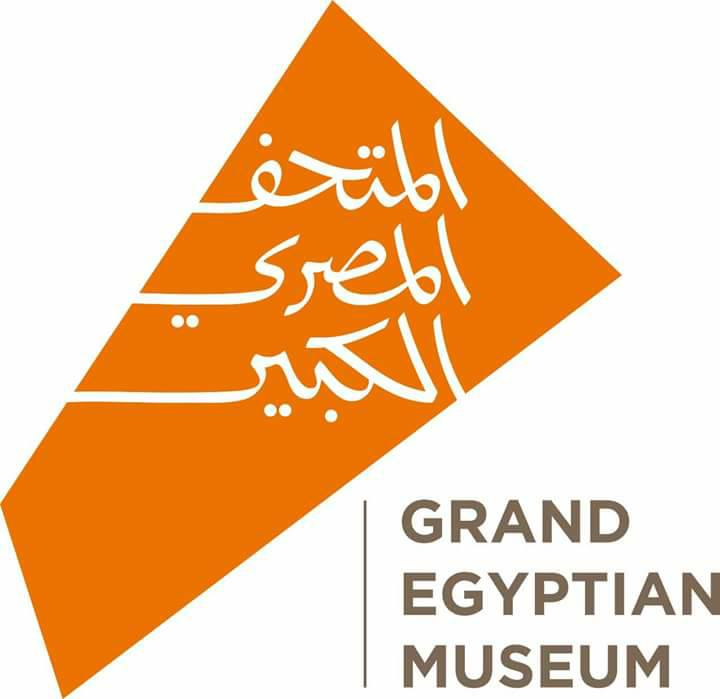 لوجو المتحف المصري الجديد