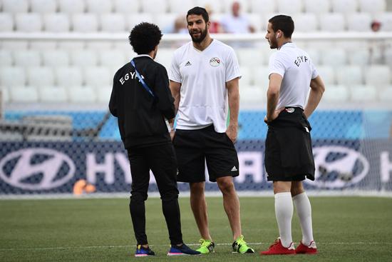 مباراة مصر والسعودية فى كاس العالم 2018 (22)