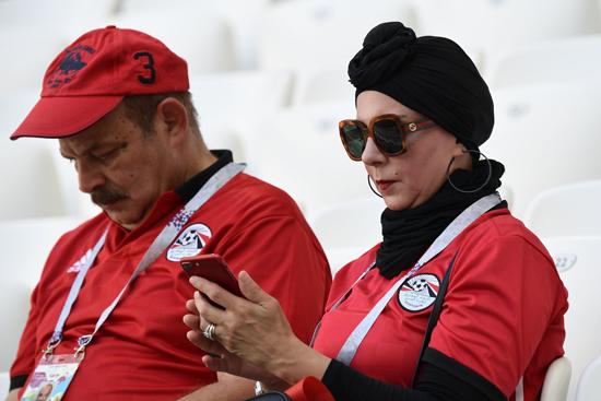 مباراة مصر والسعودية فى كاس العالم 2018 (16)