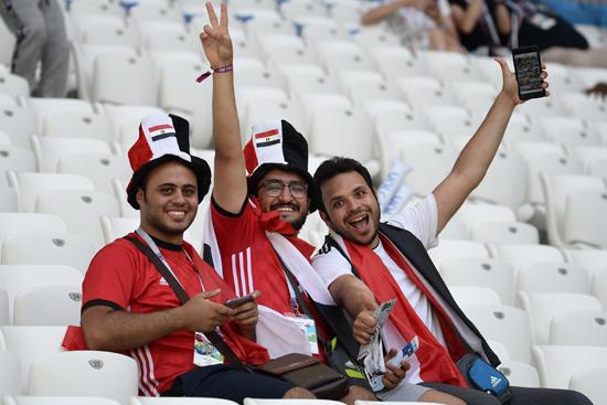 مباراة مصر والسعودية فى كاس العالم 2018 (18)