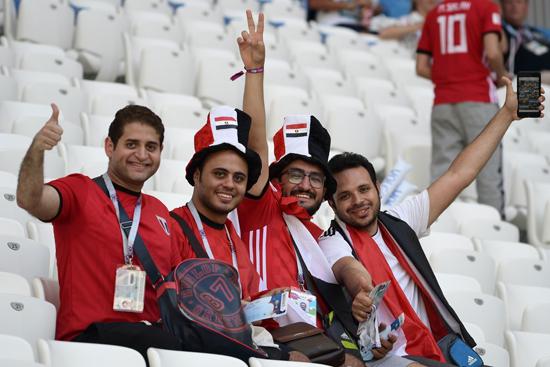 مباراة مصر والسعودية فى كاس العالم 2018 (17)