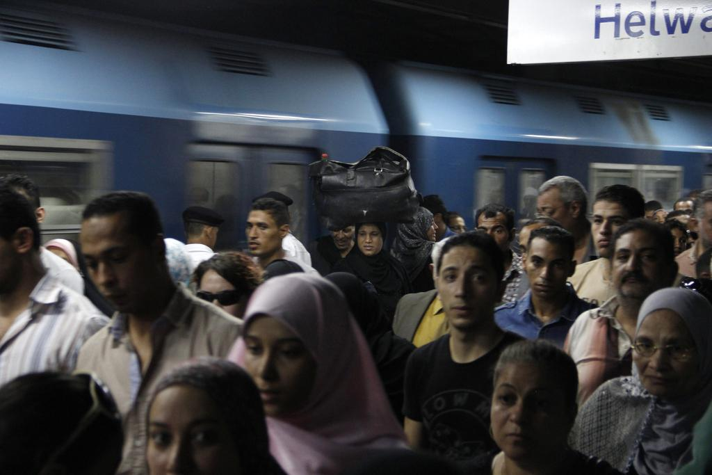الزحام فى القاهرة