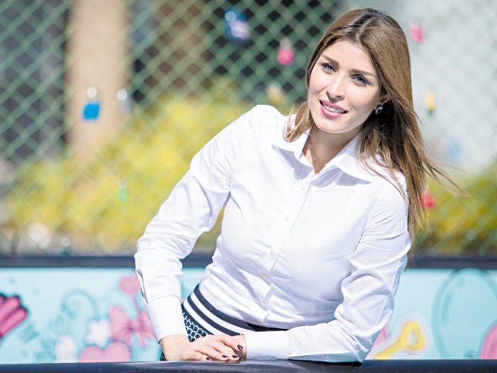 الاعلامية أميرة جمال مقدمة البرامج فى أون سبورت