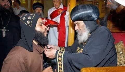 اشعيا امقارى والبابا شنودة