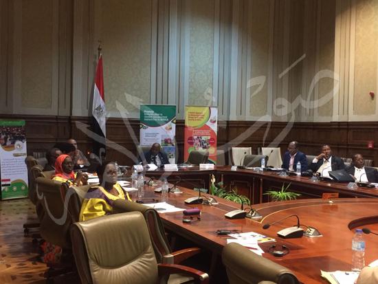 وفد زراعة البرلمان الأفريقى (1)