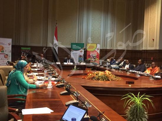 وفد زراعة البرلمان الأفريقى (3)