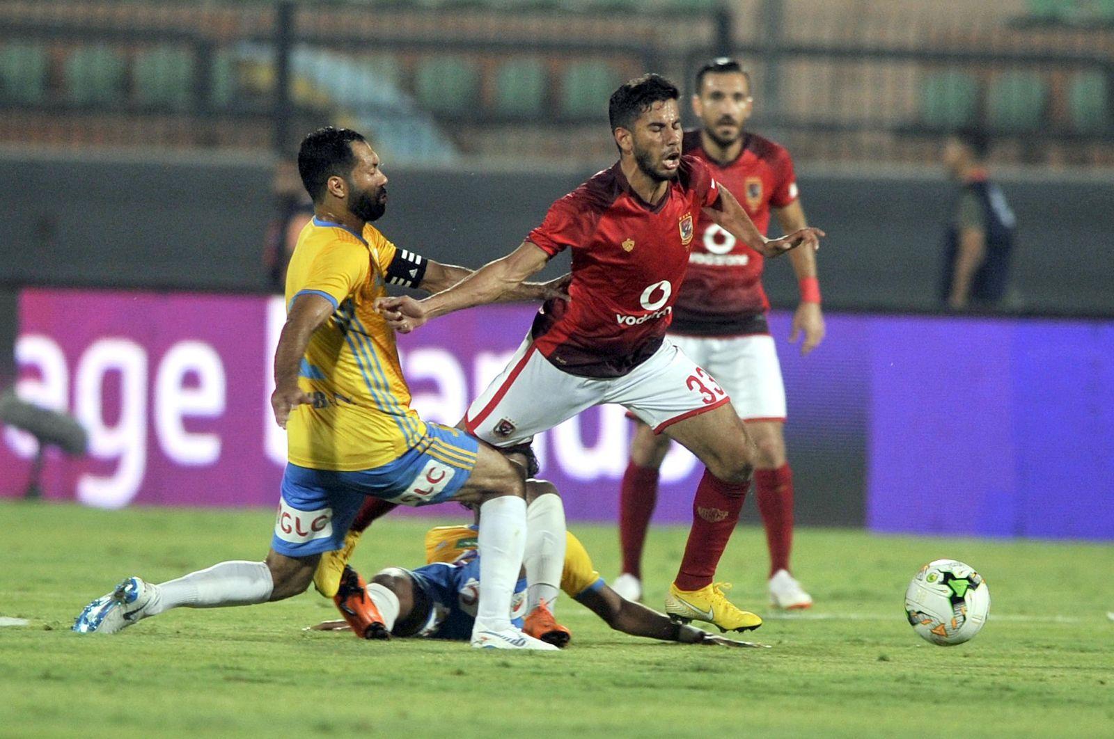 ناصر ماهر في مباراة الإسماعيلي
