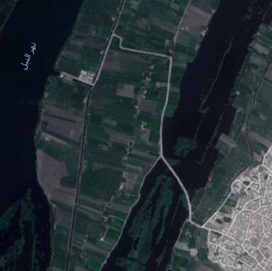 طريق على جزيرة ابو صالح
