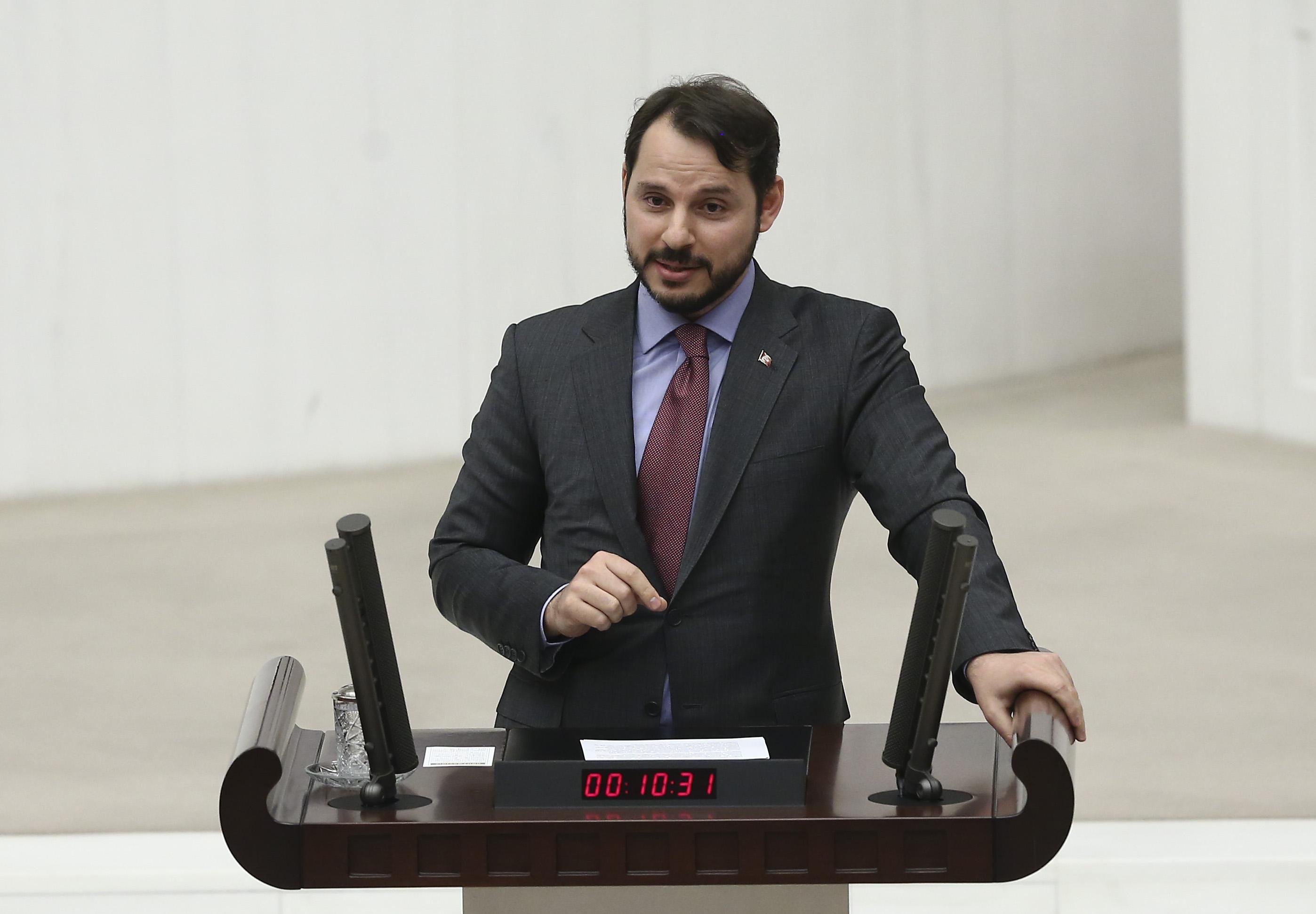 وزير المالية التركي براءت ألبيرق