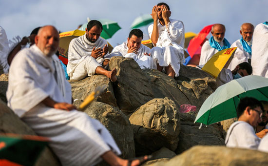 الحجاج على جبل عرفات (10)