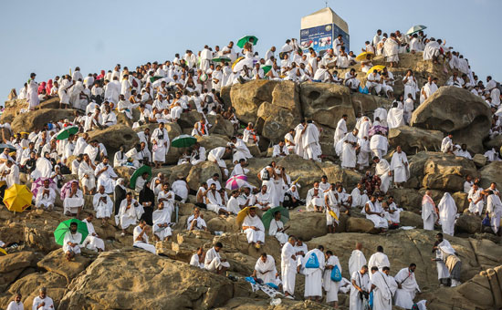 الحجاج على جبل عرفات (9)