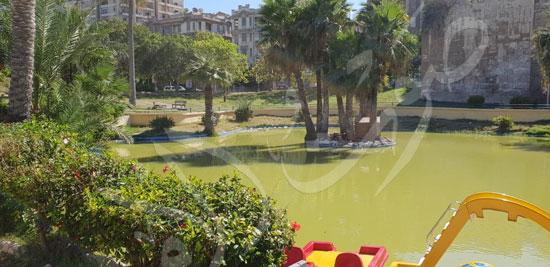 حدائق الشلالات بالإسكندرية (4)