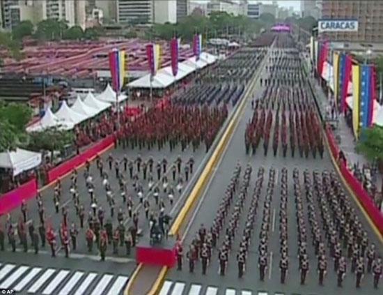 الهجوم-على-الرئيس-الفنزويلى-(2)
