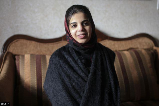 الفلسطينية براءة ملحم احتجزت 9 سنوات فى مرحاض